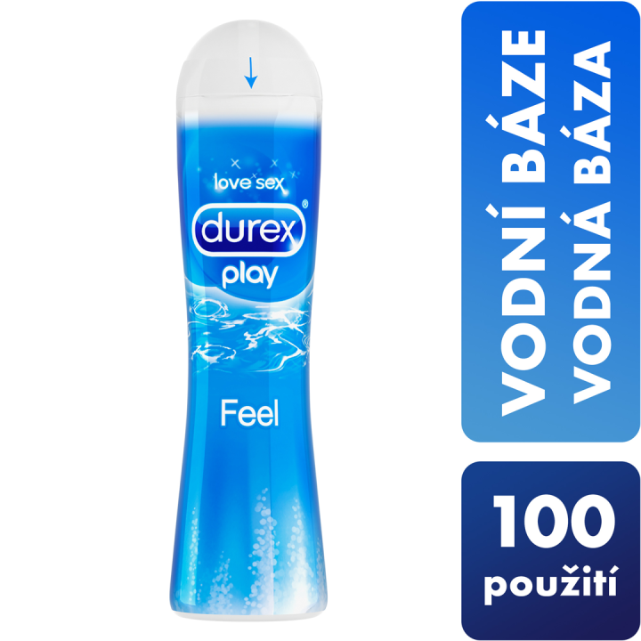 Durex Play Feel 50 ml - Lubrikační gel