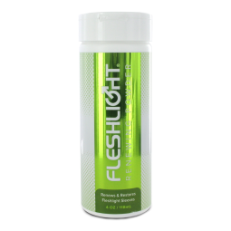 Čistící pudr k vaginám Fleshlight - Renewing Powder 118 ml